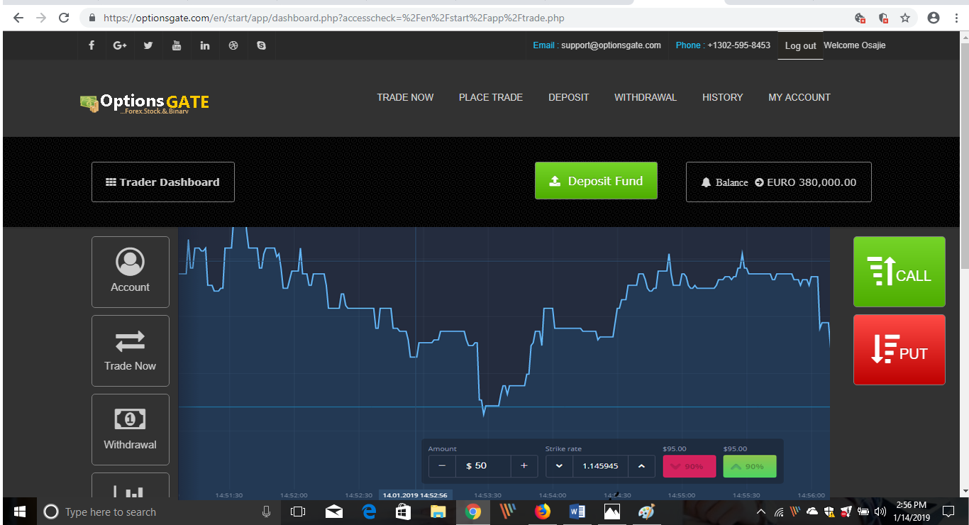 Binary options trading site script mitt investment